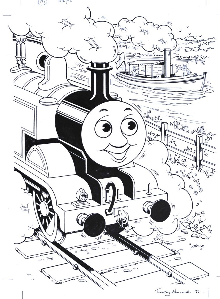 Thomas the Tank Engine @ Kidzmania